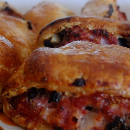 Sausage Roll with Black Pudding