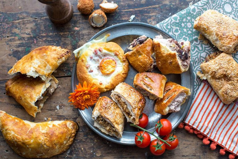 Breads and Savouries